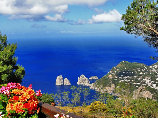 Sea View from Capri