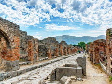 Ancient City Of Pompei