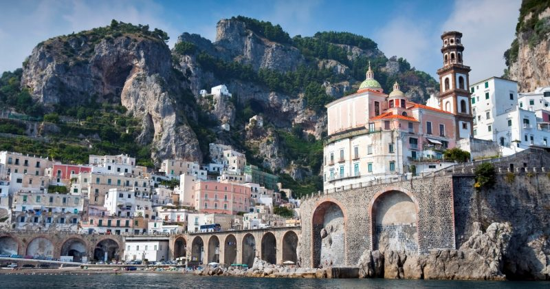 Amalfi-coast-from-the-sea